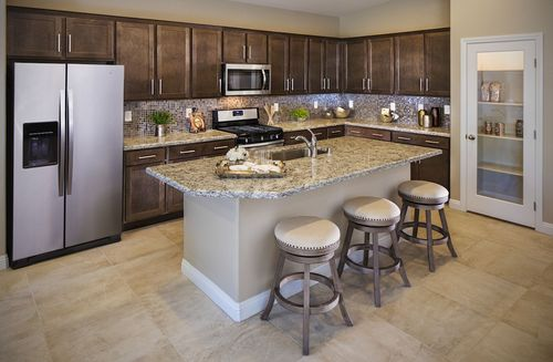 Kitchen-in-Summit-at-Colton Ranch-in-North Las Vegas