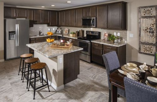 Kitchen-in-Willow-at-Colton Ranch-in-North Las Vegas