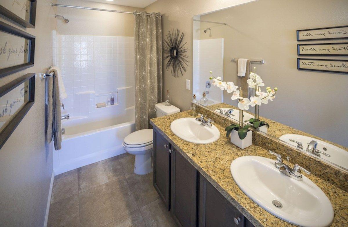 Bathroom-in-Valenica-at-Hyde Park-in-North Las Vegas