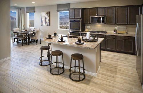 Kitchen-in-Valencia-at-Cactus Ridge-in-Las Vegas