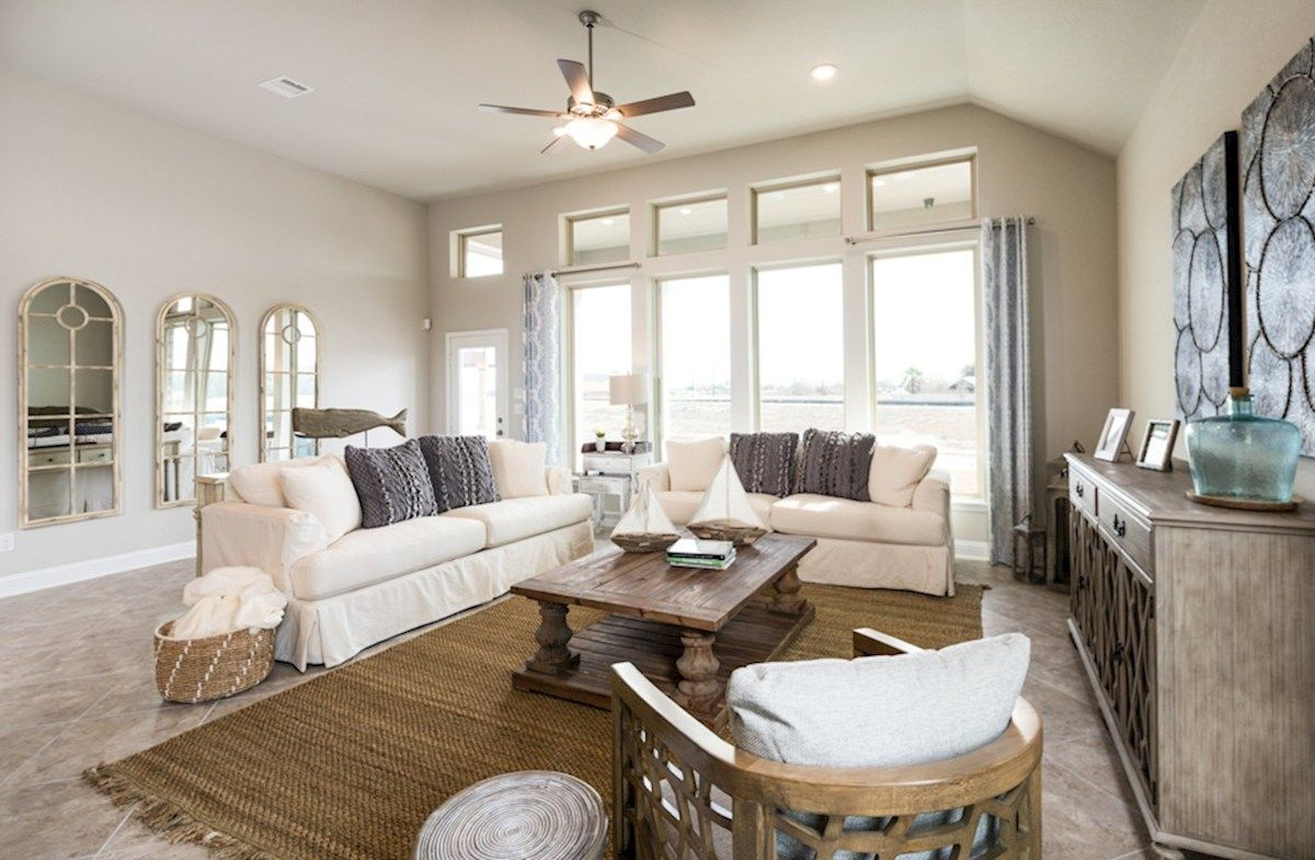 Greatroom-in-Cameron-at-Wildwood at Oakcrest-in-Cypress