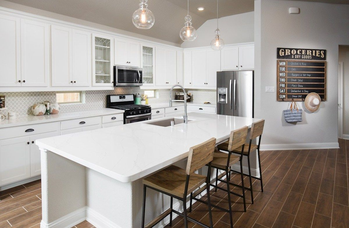 Kitchen-in-Capri-at-Young Ranch-in-Katy