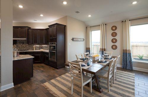 Kitchen-in-Fredericksburg-at-Bluewater Lakes-in-Manvel