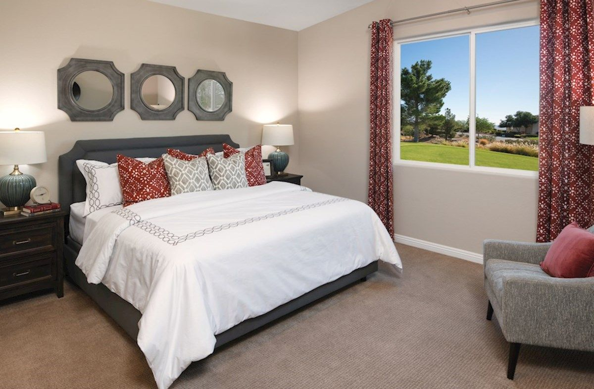 Bedroom featured in the Zion By Beazer Homes in Las Vegas, NV