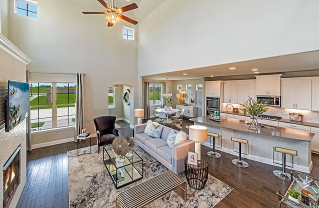 Brazos Great Room and Kitchen