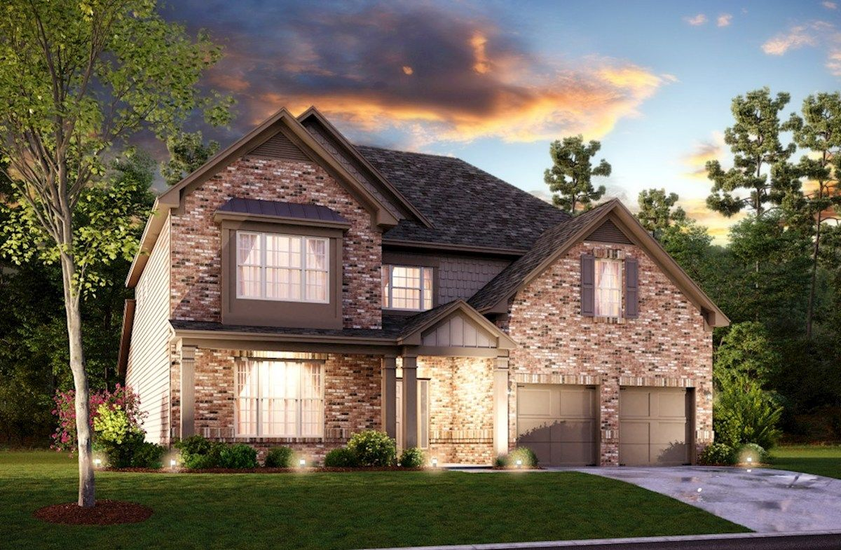 Exterior featured in the Fairfield By Beazer Homes in Atlanta, GA