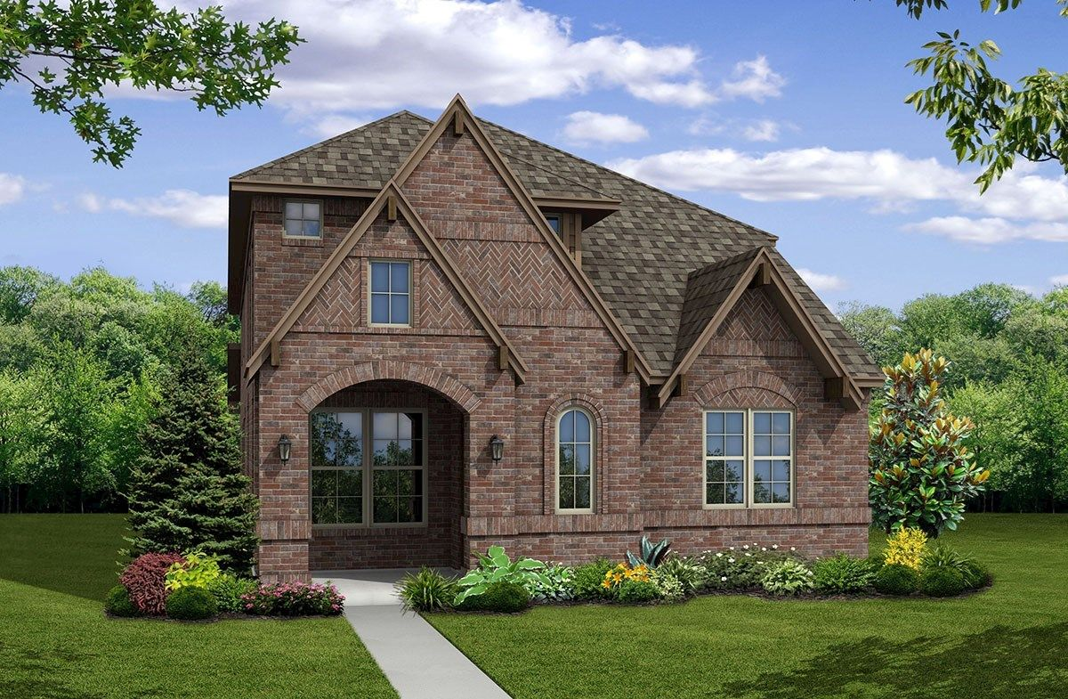 Exterior featured in the Brazos By Beazer Homes in Dallas, TX