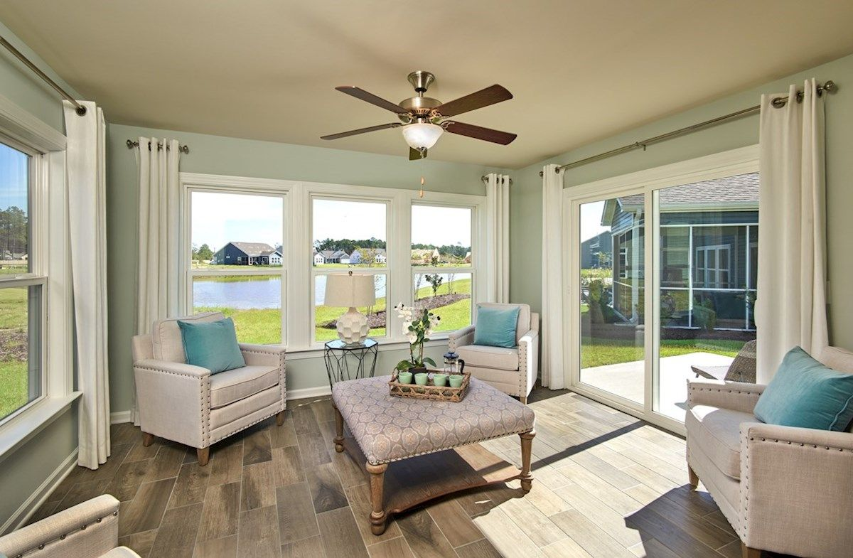 Living Area featured in the Camden By Beazer Homes in Myrtle Beach, SC