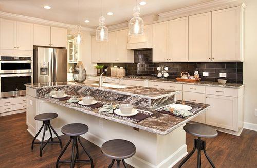 Kitchen-in-Sage-at-Bridgeport-in-Wake Forest