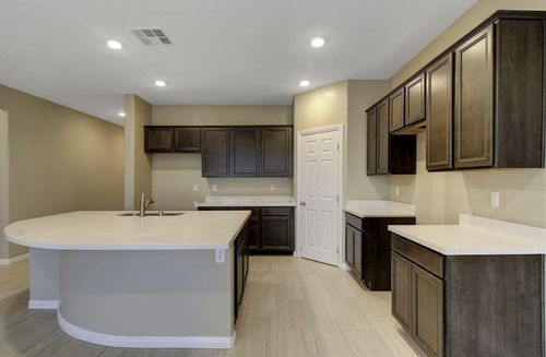 Kitchen-in-Zion-at-Hawthorne at Sedona Ranch-in-North Las Vegas