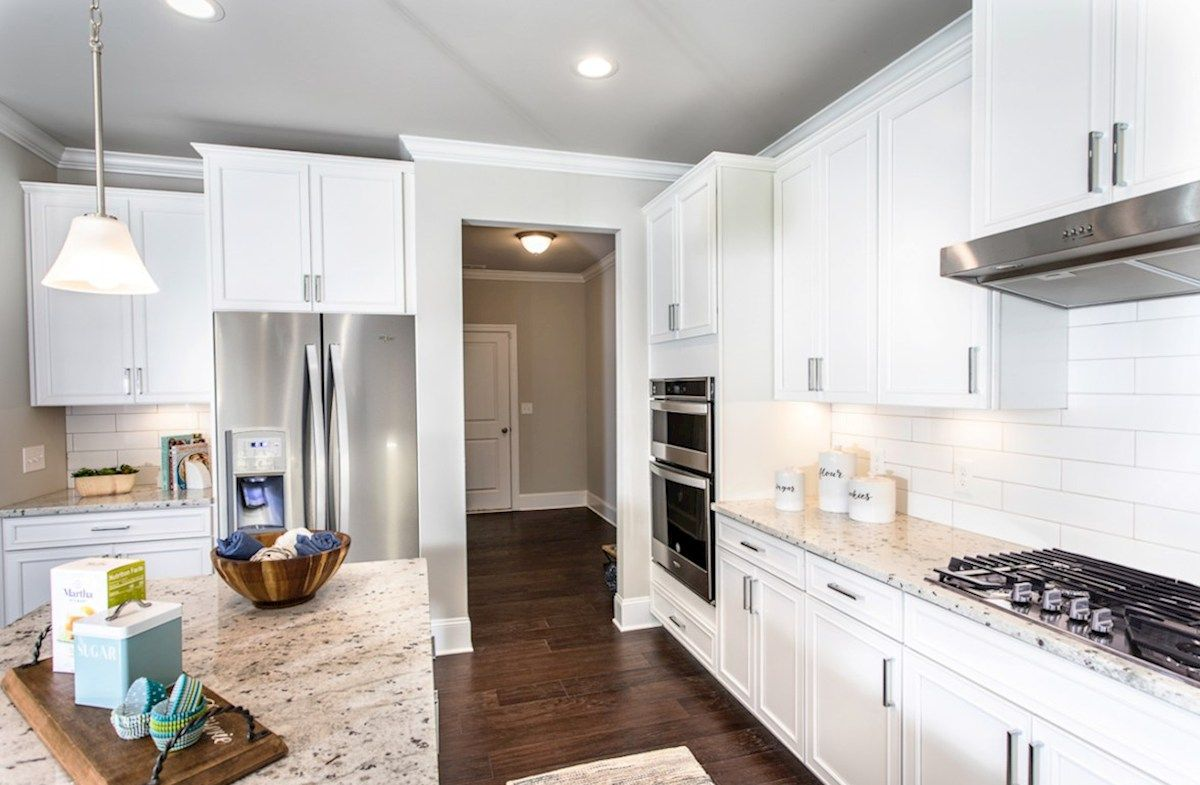 Kitchen featured in the Brentwood By Beazer Homes in Atlanta, GA