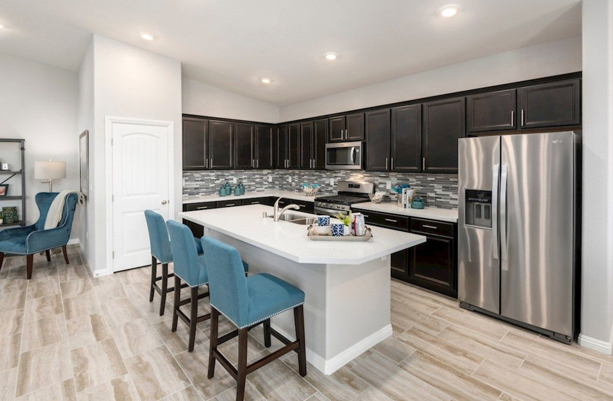 Kitchen-in-Summit-at-Hawthorne at Sedona Ranch-in-North Las Vegas