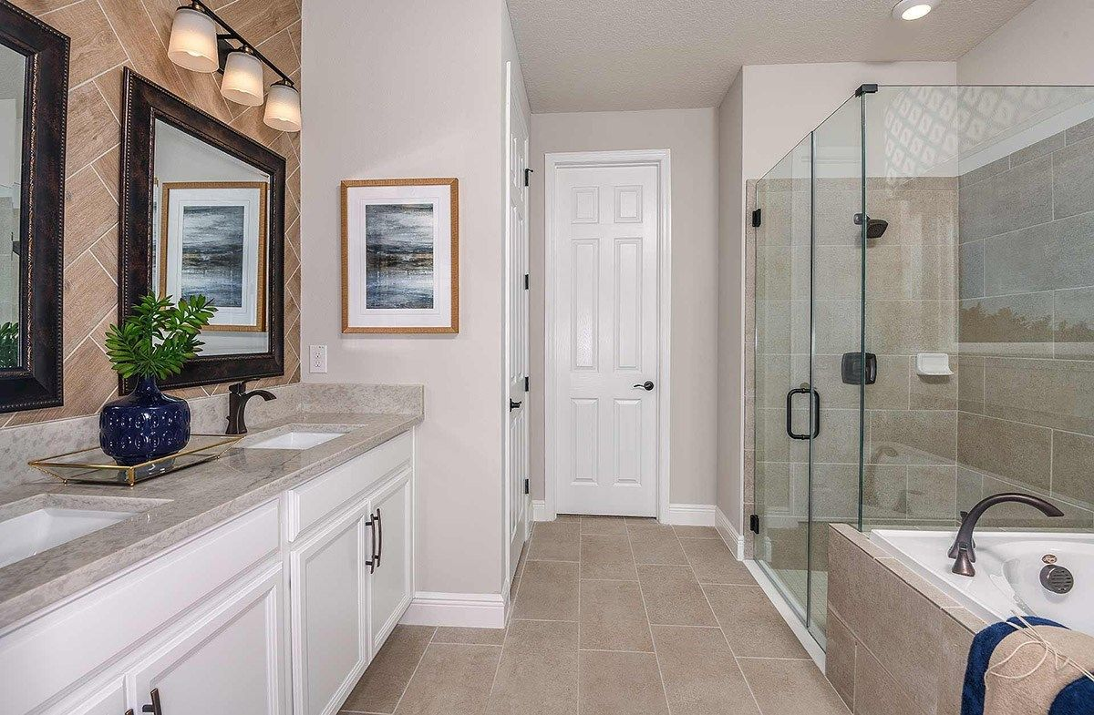 Bathroom featured in the Bayview By Beazer Homes in Tampa-St. Petersburg, FL