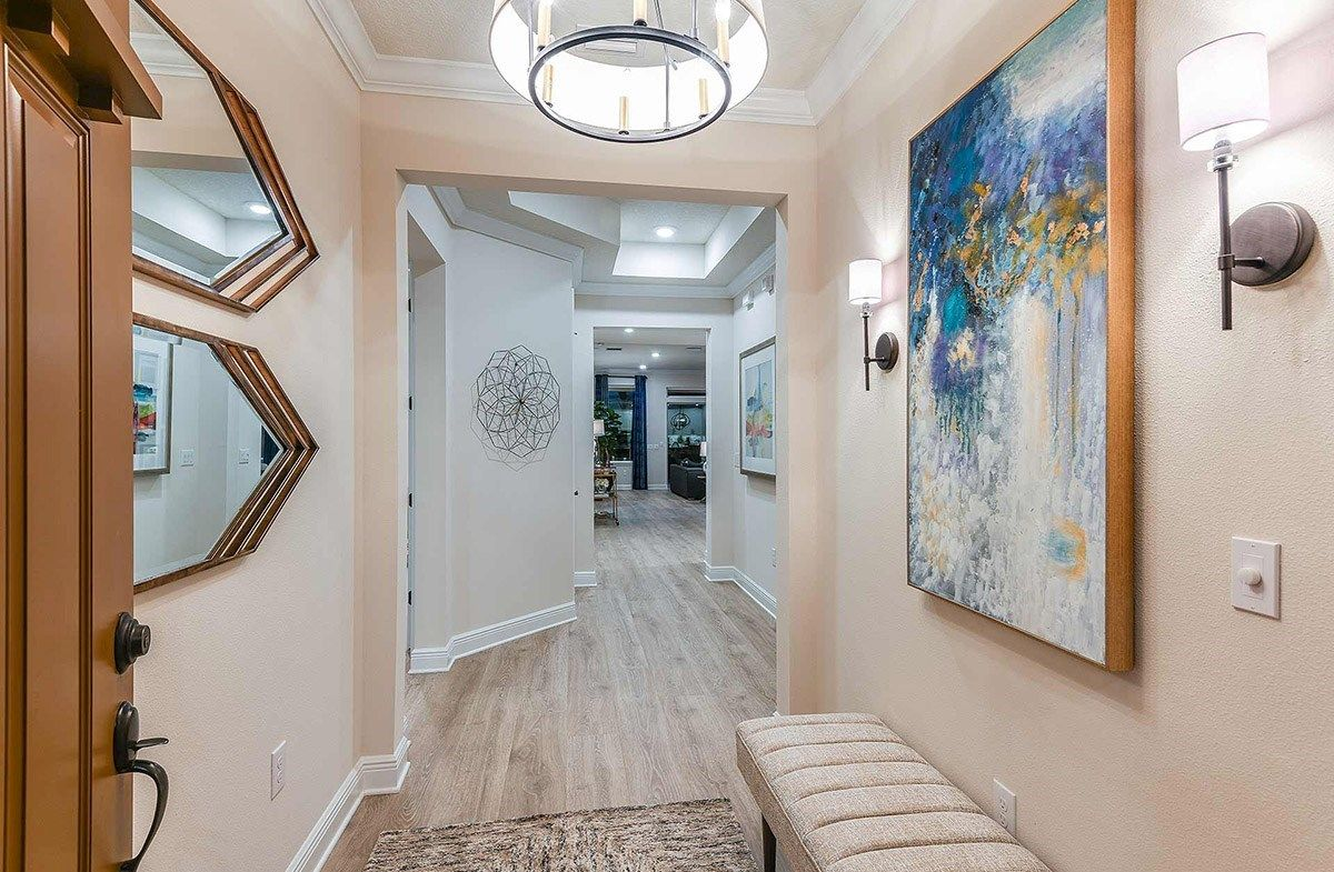 Living Area featured in the Bayview By Beazer Homes in Tampa-St. Petersburg, FL