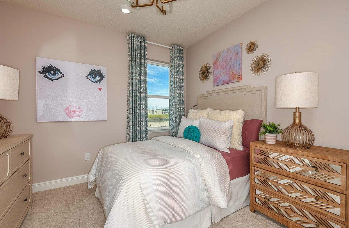 Bedroom featured in the Bayview By Beazer Homes in Tampa-St. Petersburg, FL