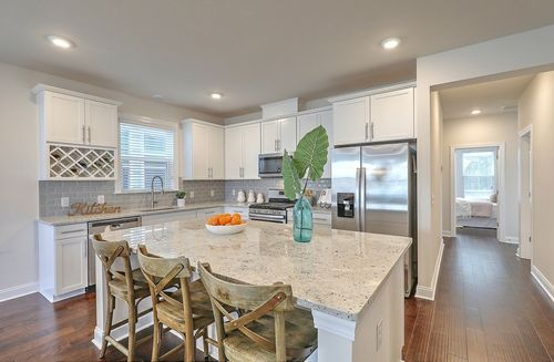 Kitchen-in-Drayton-at-The Marshes at Cooper River-in-Charleston