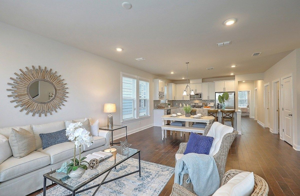 Living Area featured in the Drayton By Beazer Homes in Charleston, SC