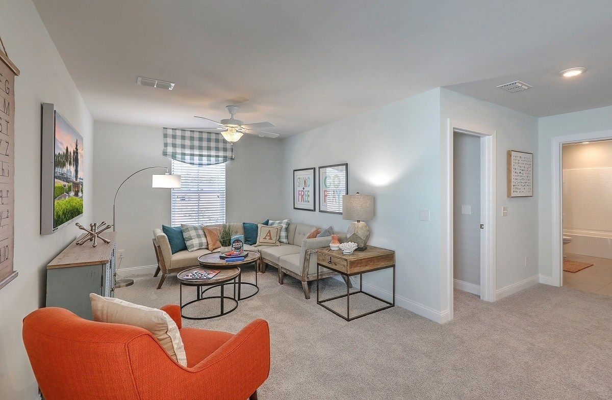 Living Area featured in the Holly By Beazer Homes in Charleston, SC