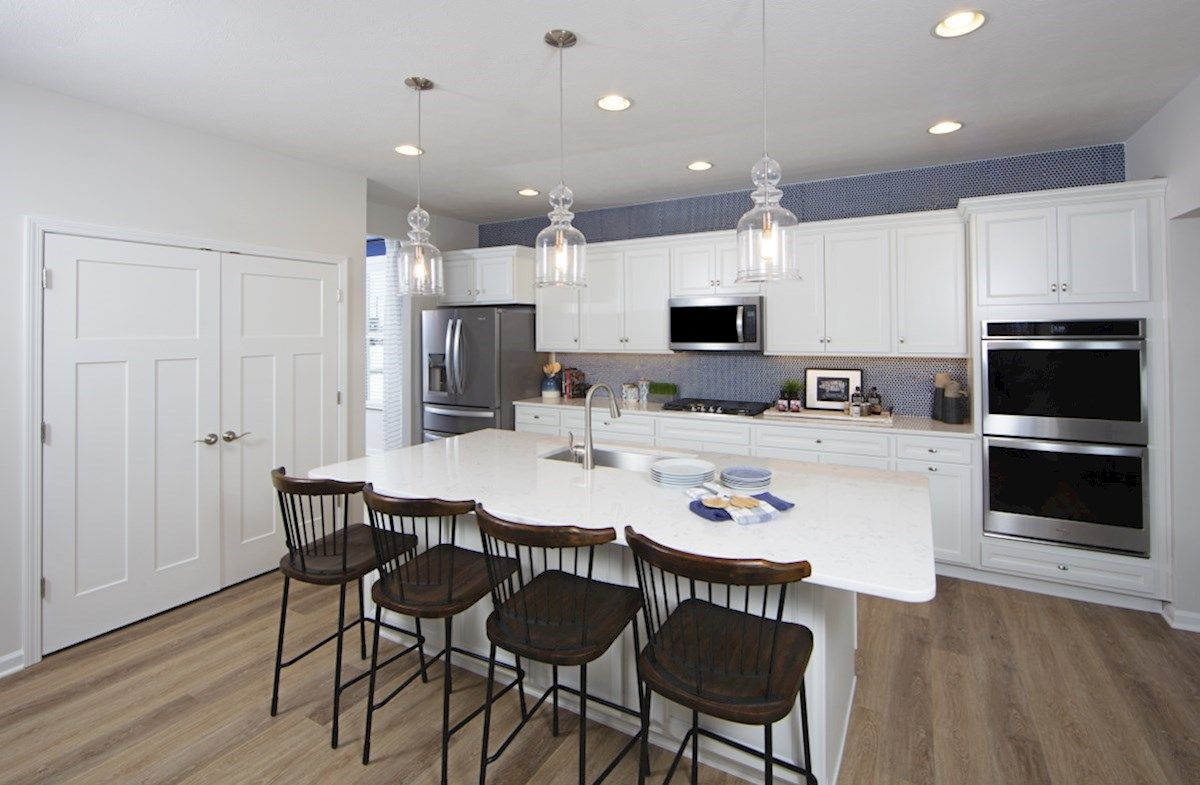Kitchen featured in the Jefferson By Beazer Homes in Indianapolis, IN