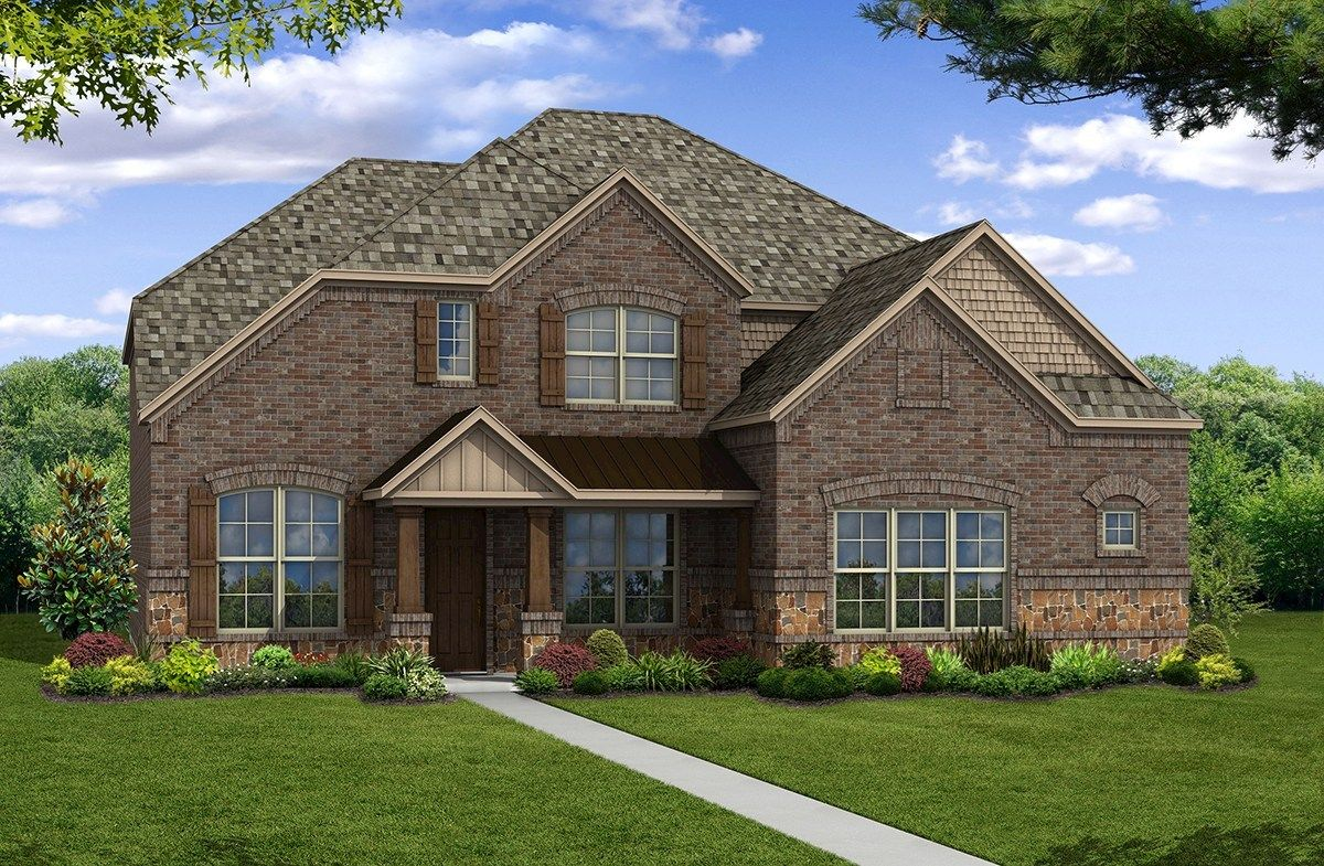 Exterior featured in the Madison By Beazer Homes in Dallas, TX