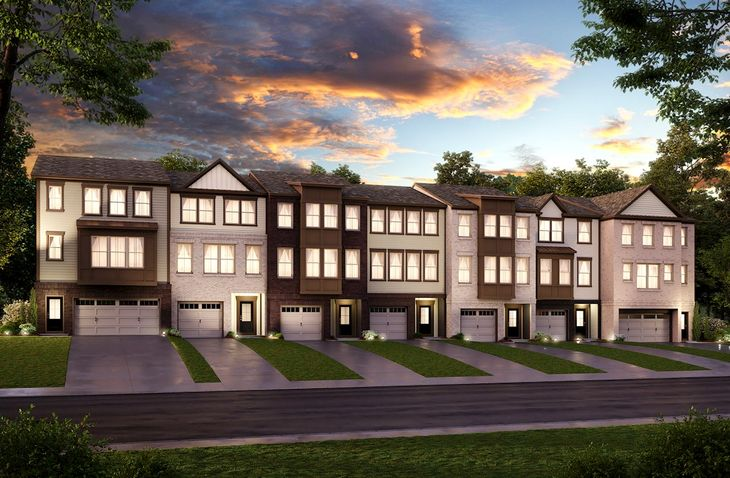 3-level townhomes coming soon