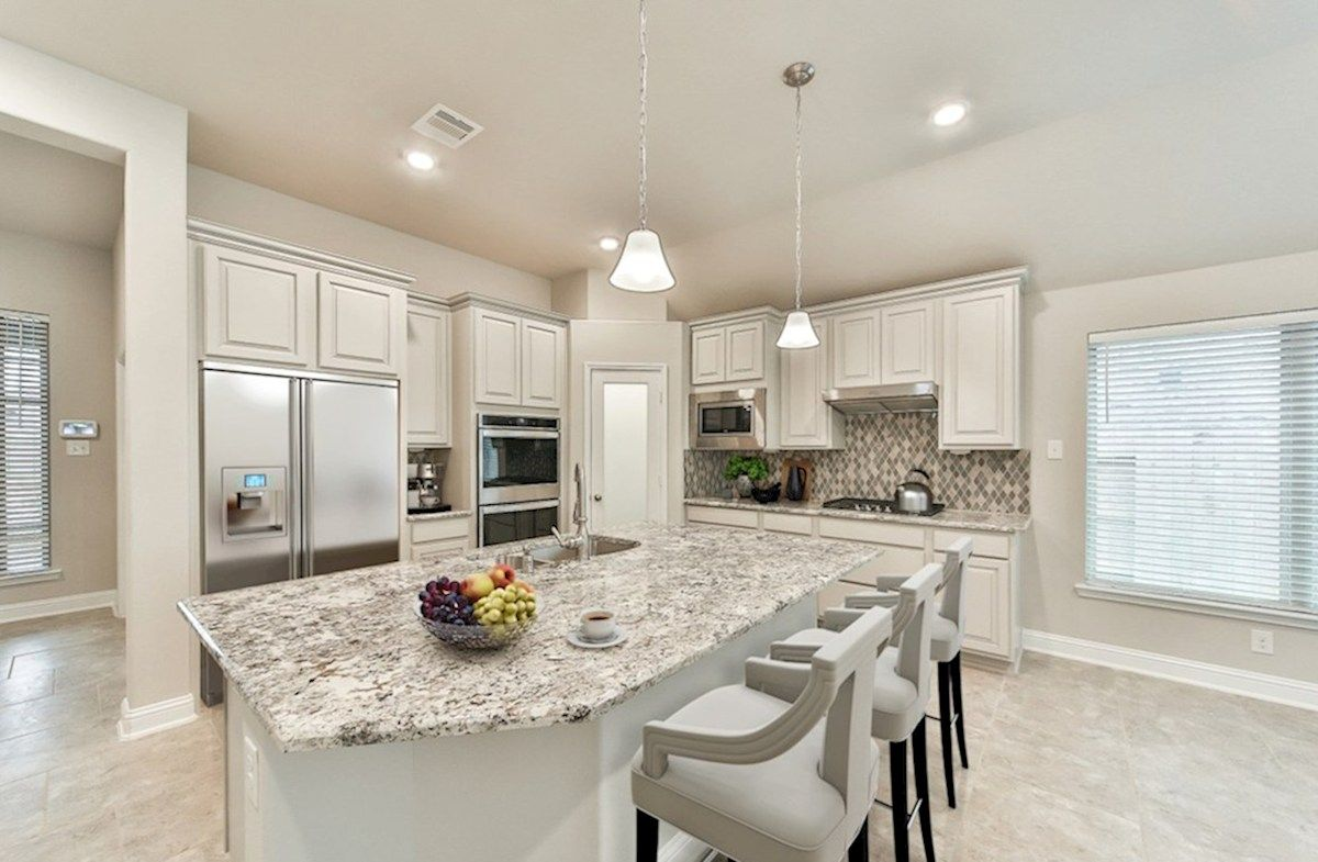 Kitchen featured in the Anderson By Beazer Homes in Houston, TX