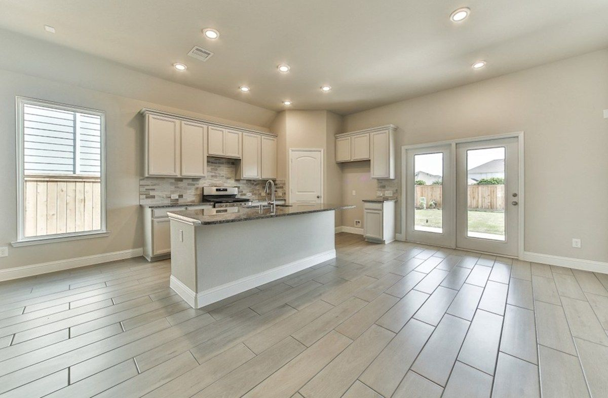 Kitchen-in-Belissimo-at-Bridgeland: Harmony Grove-in-Cypress