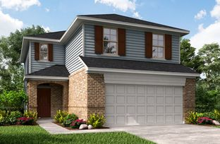 Hughes - Marisol - Founders Collection: Katy, Texas - Beazer Homes