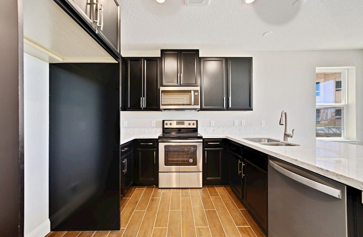 Kitchen featured in the Dogwood By Beazer Homes in Orlando, FL