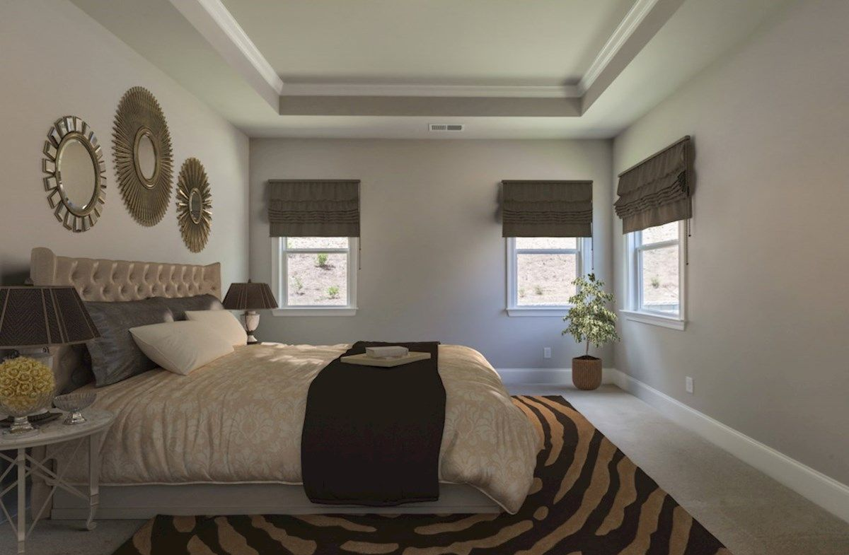 Bedroom featured in the Fairfield By Beazer Homes in Atlanta, GA
