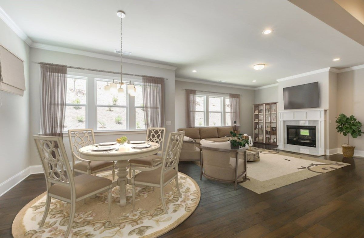 Kitchen featured in the Fairfield By Beazer Homes in Atlanta, GA