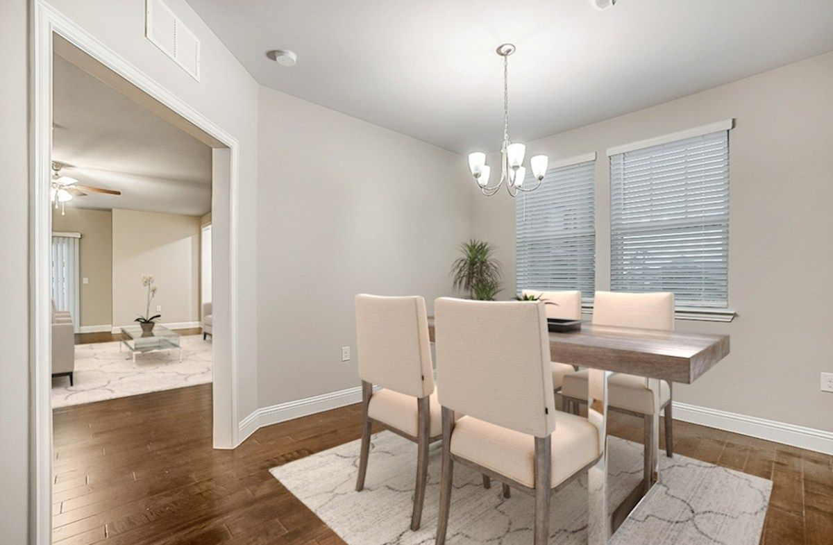 Living Area featured in the Wiltshire By Beazer Homes in Dallas, TX