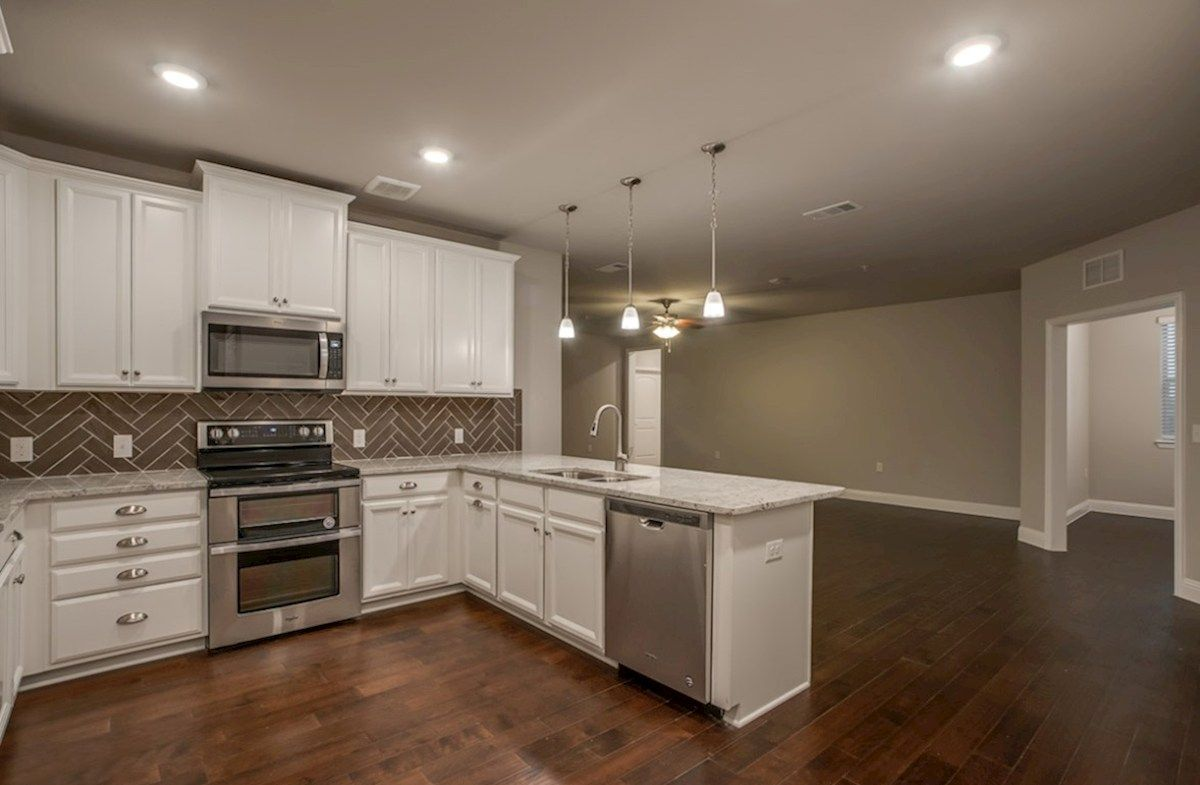 Kitchen featured in the Wiltshire By Beazer Homes in Dallas, TX