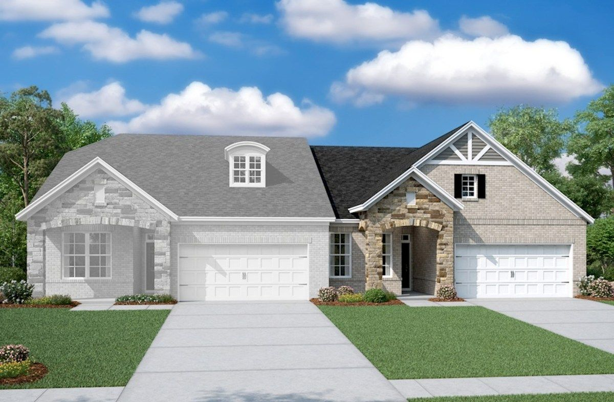 Exterior featured in the Ashton By Beazer Homes in Nashville, TN