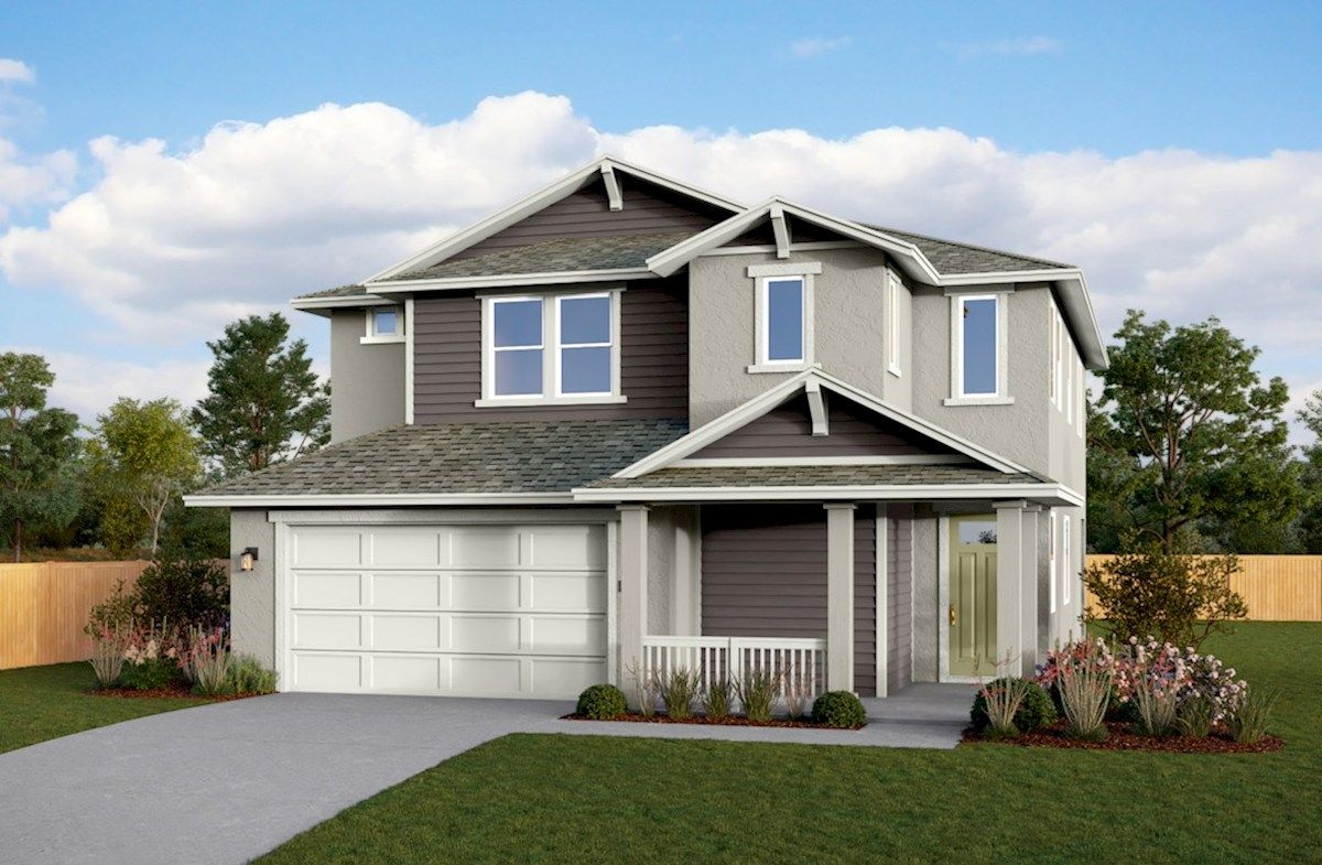 Exterior featured in the Residence 2 By Beazer Homes in Sacramento, CA