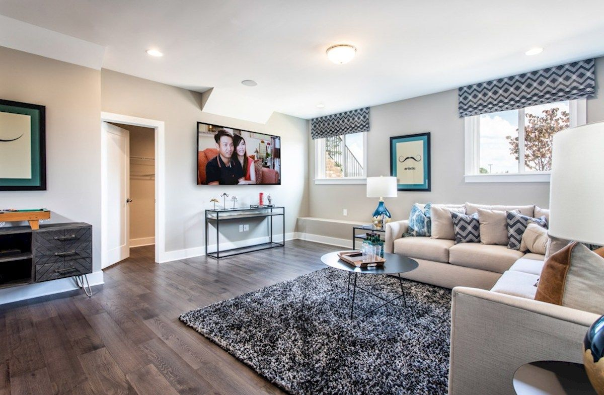 Living Area featured in the Sumter II By Beazer Homes in Atlanta, GA