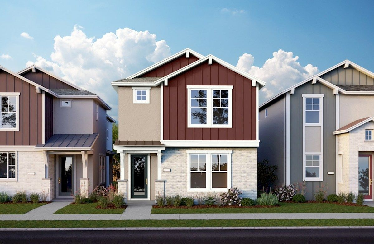 Exterior featured in the Plan 4 By Beazer Homes in Sacramento, CA