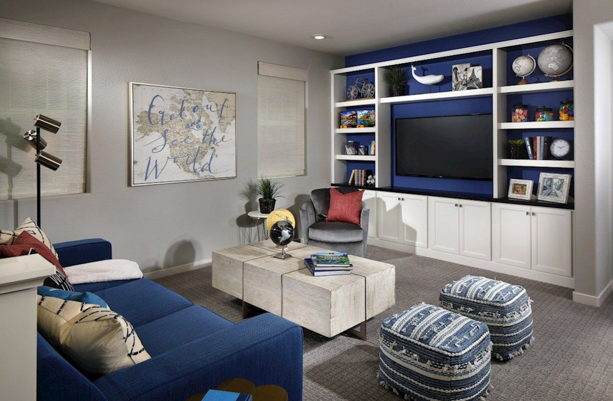 Living Area featured in the Residence 2 By Beazer Homes in Sacramento, CA