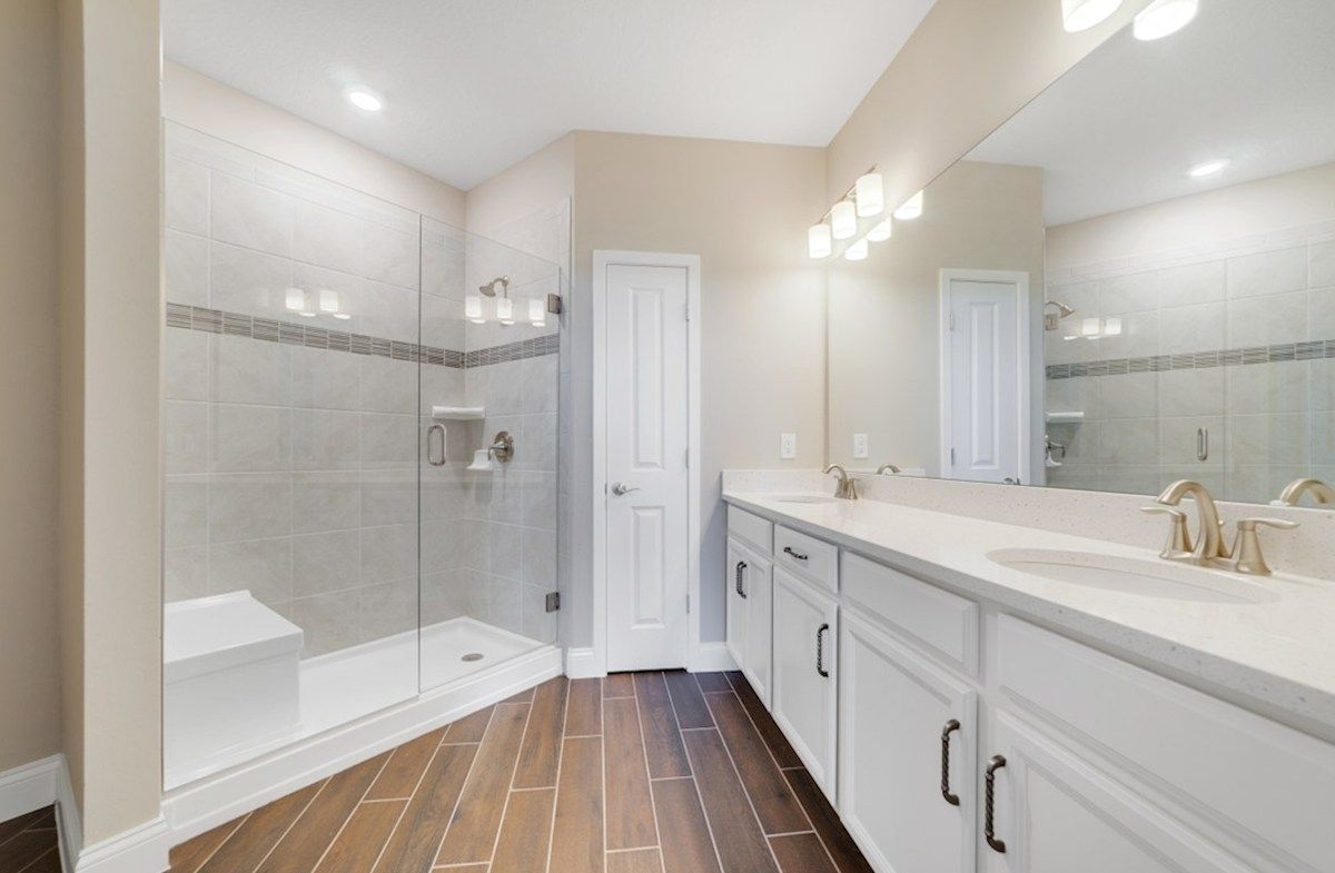 Bathroom featured in the Chestnut By Beazer Homes in Orlando, FL