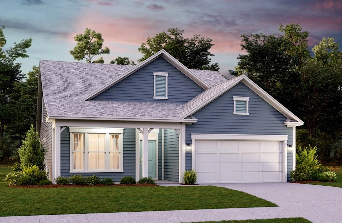 Exterior featured in the Red Oak By Beazer Homes in Myrtle Beach, SC