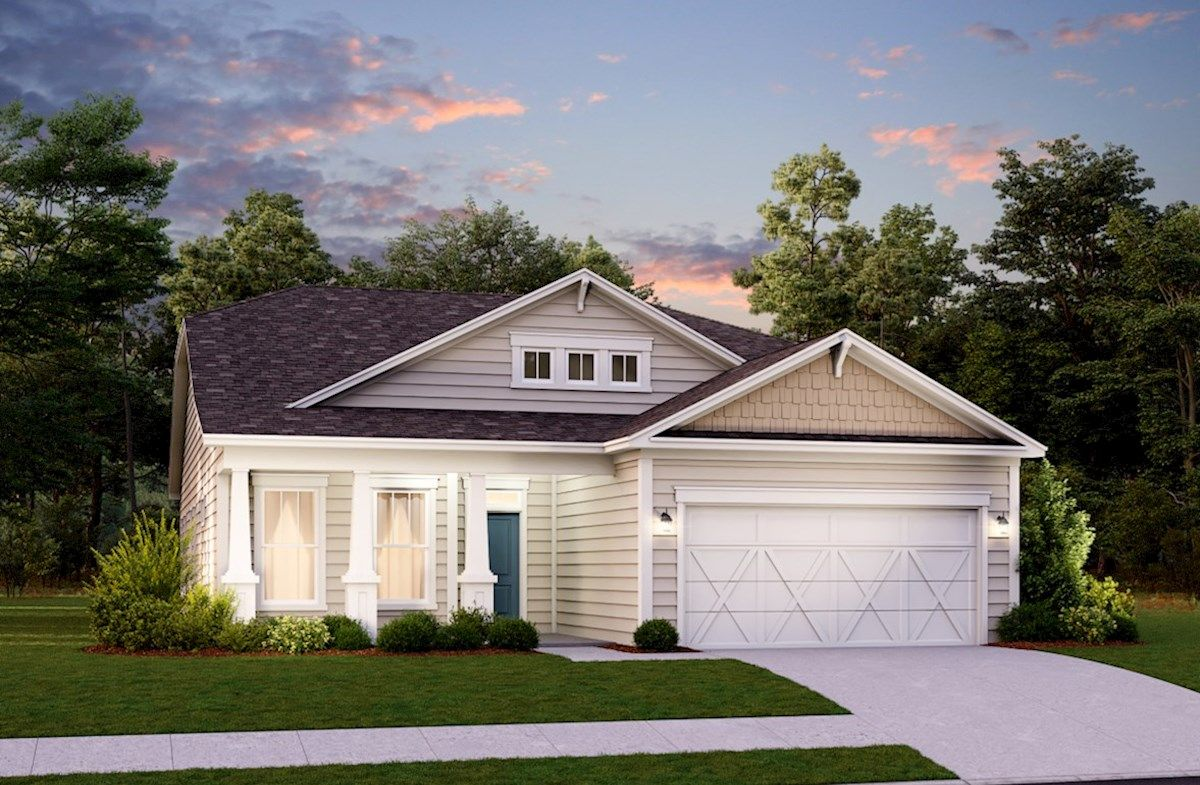 Exterior featured in the Laurel By Beazer Homes in Myrtle Beach, SC
