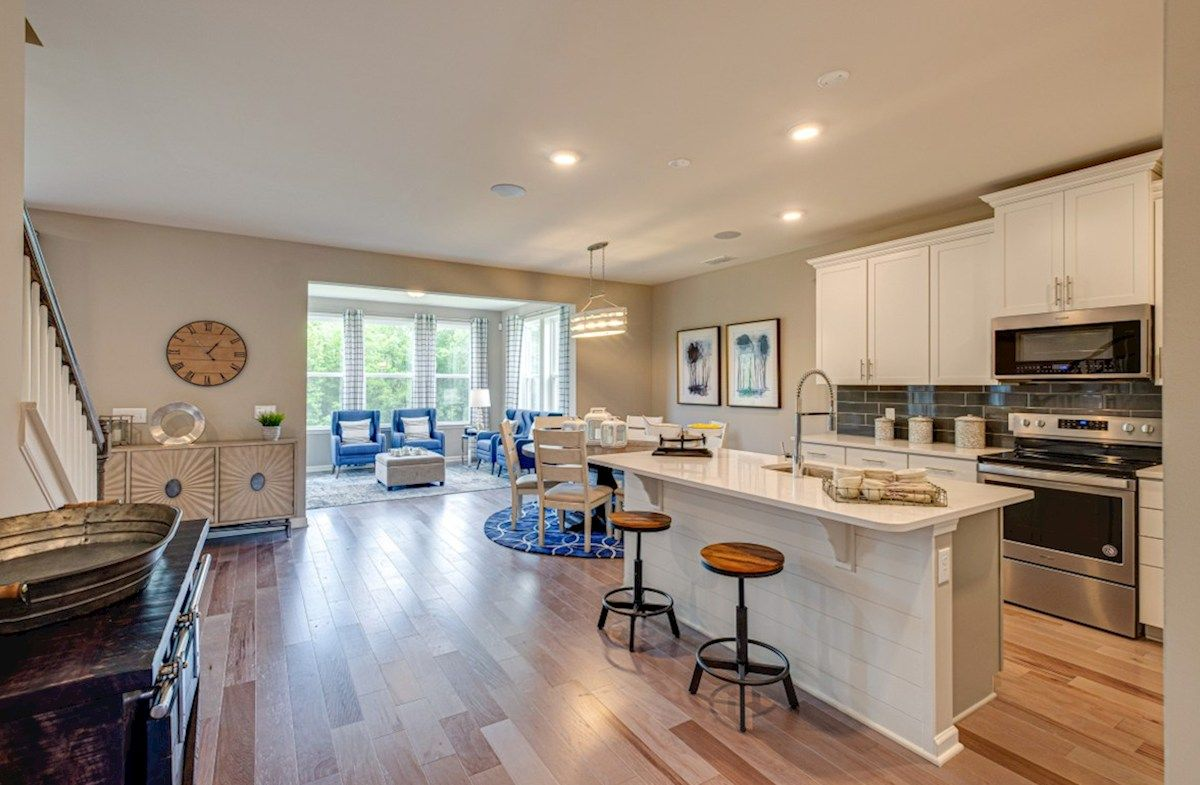 Kitchen featured in the Ashford By Beazer Homes in Nashville, TN