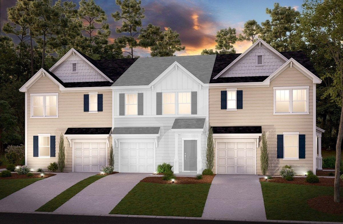 Exterior featured in the Pineview By Beazer Homes in Savannah, GA