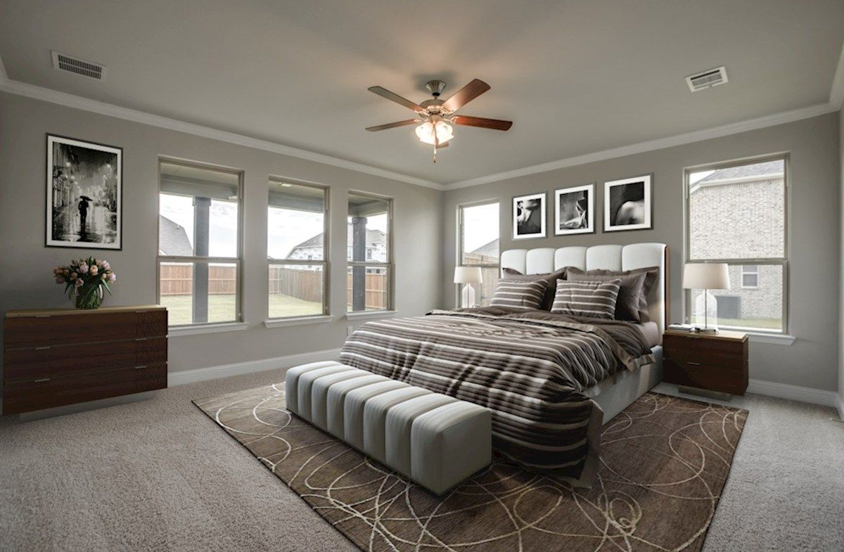 Bedroom featured in the Riverdale By Beazer Homes in Dallas, TX