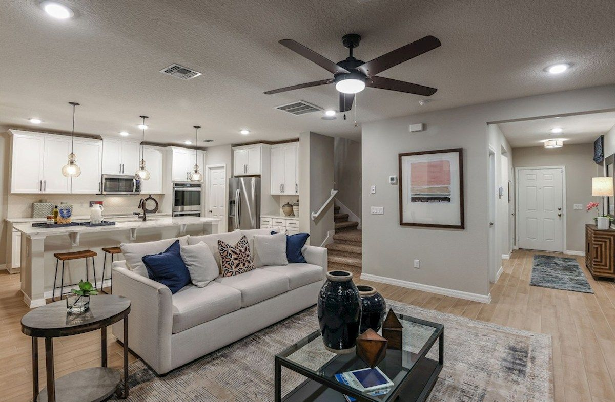 Living Area featured in the Somerset By Beazer Homes in Orlando, FL