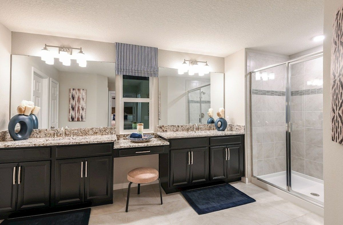 Bathroom featured in the Somerset By Beazer Homes in Orlando, FL