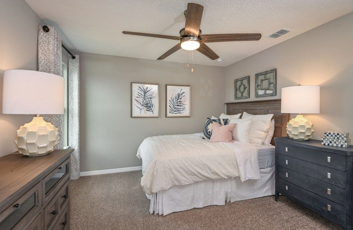 Bedroom featured in the Somerset By Beazer Homes in Orlando, FL