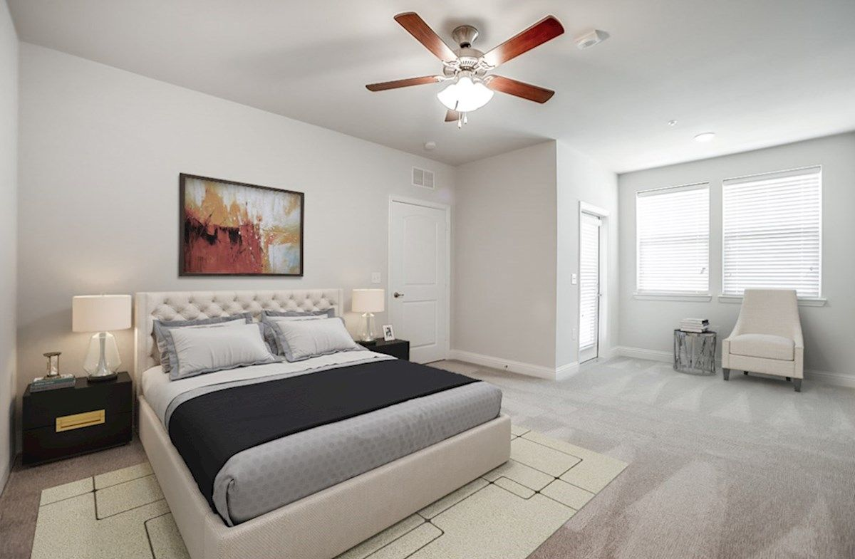 Bedroom featured in the Clifton By Beazer Homes in Dallas, TX