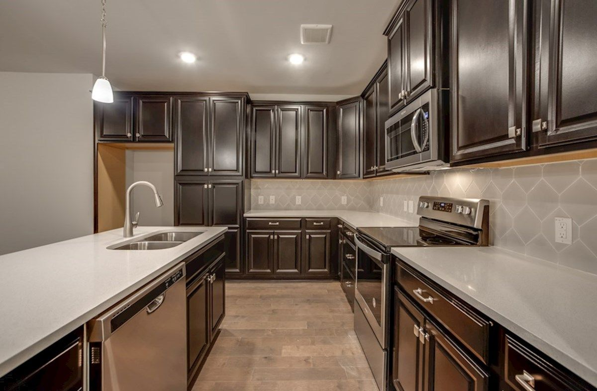 Kitchen featured in the Clifton By Beazer Homes in Dallas, TX