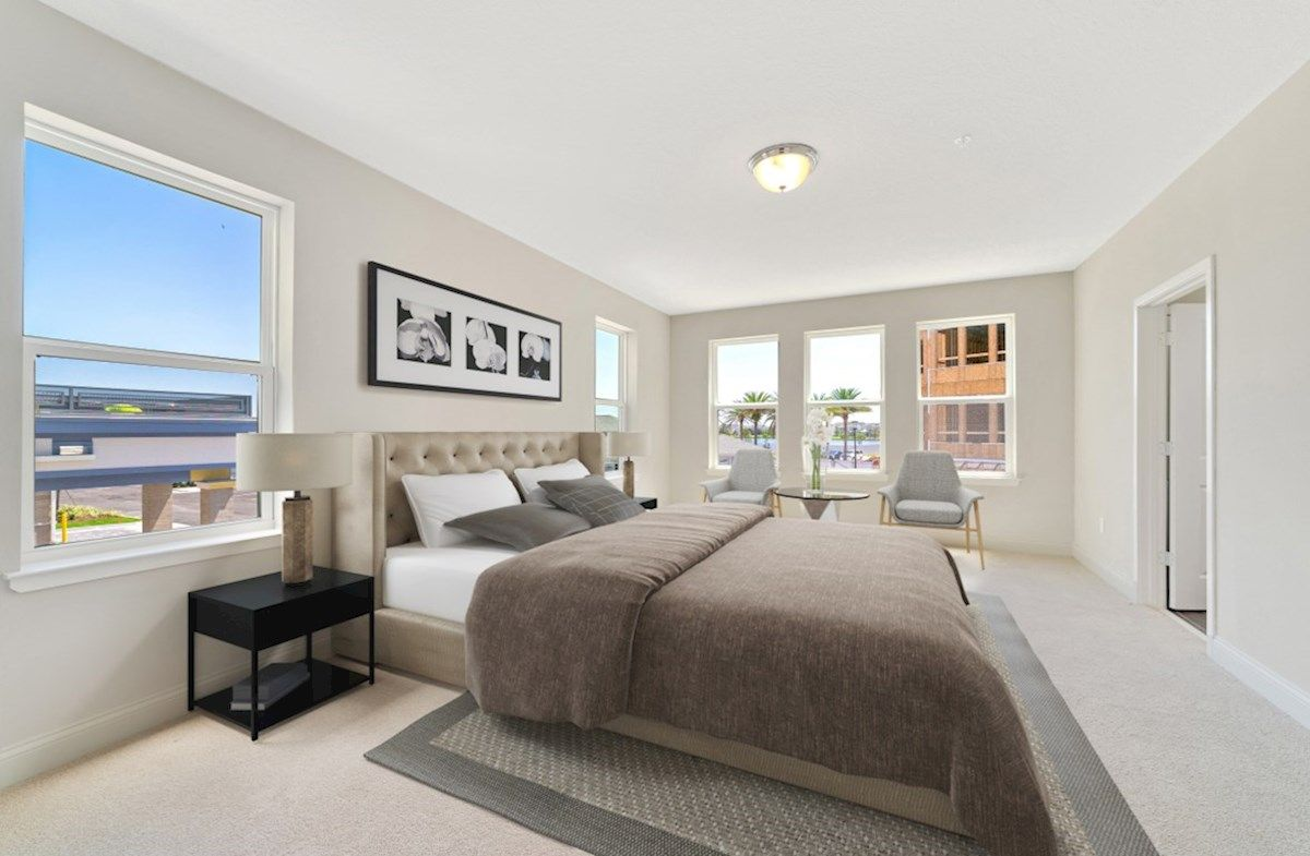Bedroom featured in the Dogwood By Beazer Homes in Orlando, FL